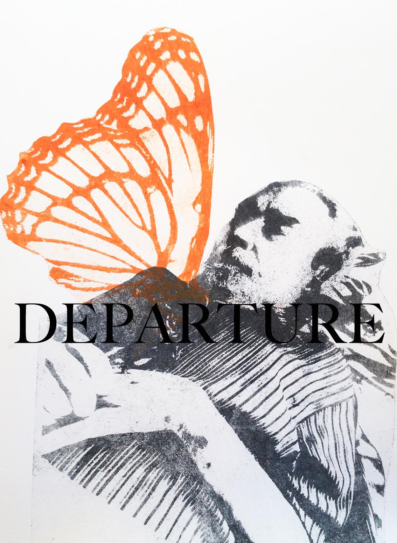 departure text